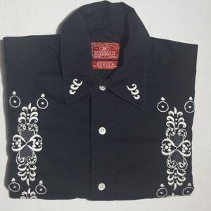 Lucky Brand Dungarees America Short Sleeve Shirt